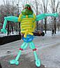 Фигура ниндзя из воздушных шаров