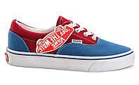 Кеды женские Vans Era Blue/Burgundy синие/бордовые