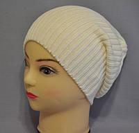 """Вязаные шапки для подростков (девочек и мальчиков) """"Борис""""."""