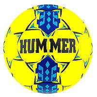 Мяч футбол Cordly Yellow Hummer  Sky/Blue HUM-ST7-YC