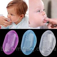 Детская зубная щетка в футляре