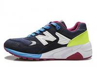 Удобные кроссовки New Balance  580 Navy Blue