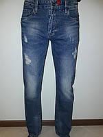 Мужские джинсы рваные Star King 7212
