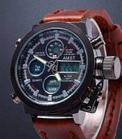 AMST Мужские стильные классические  армейские наручные кварцевые часы