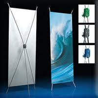 Мобильный стенд паук x-banner 1,2х2,0 м, фото 1