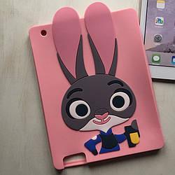 Силиконовый чехол кролик для iPad 2/3/4