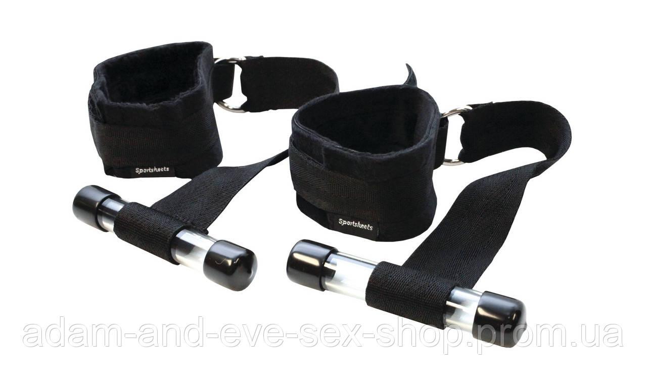 Подвески на двери с наручниками Sportsheets Door Jam Cuffs