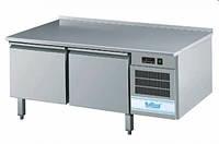 Холодильный стол с возможной надставкой плиты 2 дверный