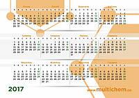 MultiChem. календарь 2017