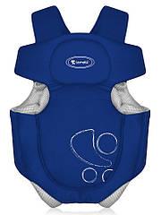 Рюкзак-кенгуру TRAVELLER BLUE для ношения детей (сумка-переноска, лицом от себя / к себе) ТМ Lorelli (Bertoni)