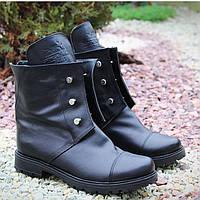 Hermes ботинки демисезонные натур кожа