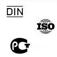 Таблица соответствия стандартов DIN ГОСТ ISO