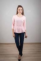 Модная баска с жемчугом, розового цвета