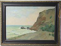 Одесса 1960г. ..Морской пейзаж.. подписная