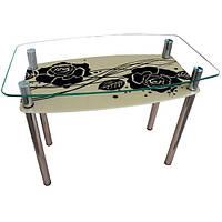 Стол стеклянный Камелия 90х65х75