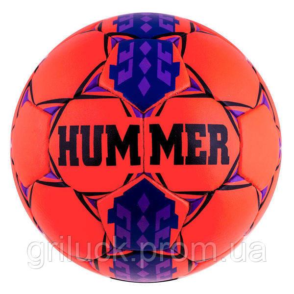 Мяч футбольный оранжевый Hummer