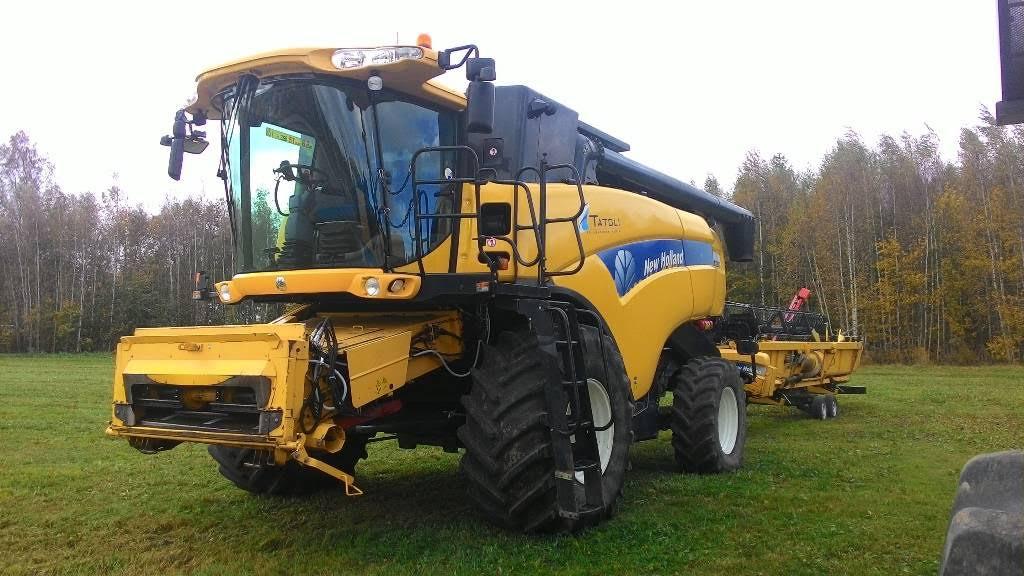 Зернозбиральний комбайн New Holland CX8070, 2008 р