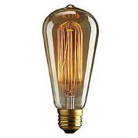 Лампа  Эдисона Т45-S, 40W 15  якорей