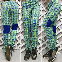 Женские штаны из дайвинга с принтом