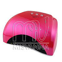 УФ лампа UV LED SUN5X Lilly на 36 Вт (rose red)