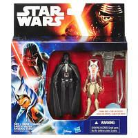 Набор из двух фигурок Дарт Вейдер и Асока Тано Star Wars Hasbro