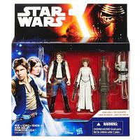 Набор из двух фигурок Хан Соло и Принцесса Лея Star Wars Hasbro