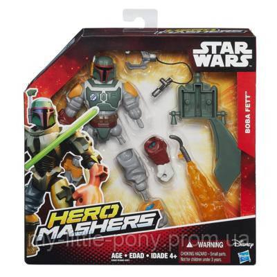 Разборная фигурка Боба Фетт с оружием Star Wars Hasbro