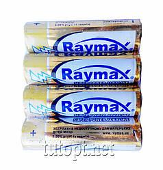Батарейки Raymax R6(AA) Super Power Alkaline 1.5V блистер - 4шт. упаковка - 40шт.
