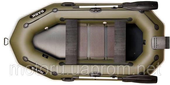 B-260 ND гребная двухместная надувная лодка BARK, фото 1