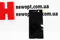 Дисплей Sony E5603/E5606/E5633/E5653/E5663 Xperia M5 Dual с тачскрином черный Оригинал, фото 1