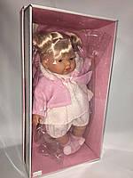 Испанская кукла Лоренс Llorens в розовой одежке