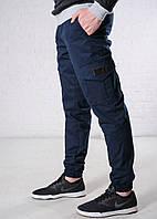 Демисезонные штаны карго Cargo Navy
