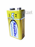 Батарейки Крона Raymax 9V Super Power Alkaline упаковка 10шт.