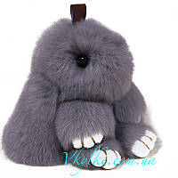 Брелок кролик серый, фото 1