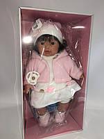 Испанская кукла Лоренс Llorens платице белое