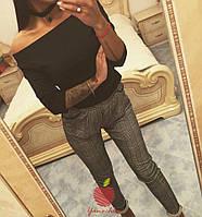 Женские стильные брюки красивой расцветки