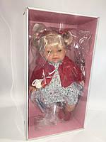 Испанская кукла Лоренс Llorens в красной кофточке