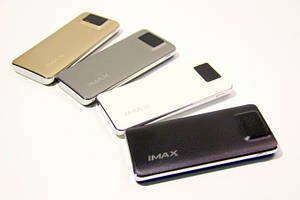 Lithium Polymer Power Bank iMAX 9000 mAh с дисплеем A-94 black
