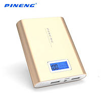 Power Bank 10000 mAh PN-988G, gold Pineng