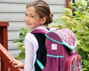 Рюкзаки для девочек 1-4 классов