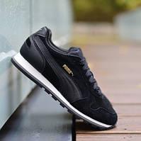Оригинальные мужские кроссовки Puma ST Runner SD black-black f4682b2f96fe9