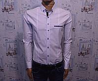 Мужская рубашка белая Турция 5022