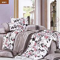 """Комплект постельного белья """"Viluta"""" ранфорс № 6 Евро Вилюта № 9561"""