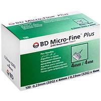 Иглы для инсулиновых шприц-ручекBD Micro Fine, 4мм