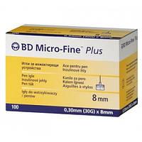 Иглы для инсулиновых шприц-ручек BD Micro Fine, 8 мм