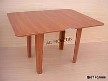 Раскладной стол ноги ДСП цвет яблоня