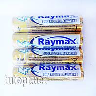 Батарейки Raymax R3(AAA) Super Power Alkaline 1.5V блистер - 4шт. упаковка - 40шт.