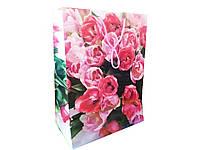 Пакет подарочный картонный №3.  24,8х34,3х14,3  см (12 шт в уп.) цена за 1 шт.