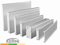 Стальной радиатор KERMI т22 200x600 боковое подключение
