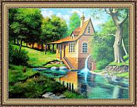 Картина Городской пейзаж 500х700мм. №398